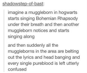 harry potter, hogwarts, and tumblr image