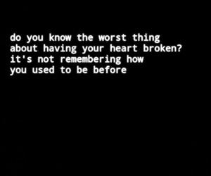 broken and love image