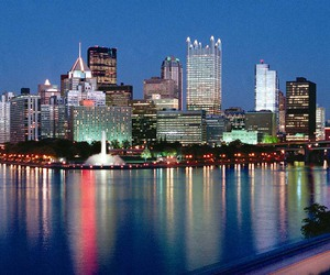 city, pennsylvania, and pittsburgh image