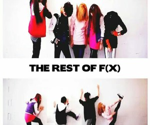 funny, kpop, and f (x) image