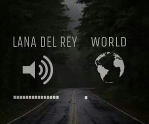 lana del rey and world image