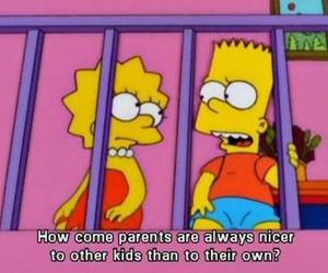 parents, quote, and simpsons image