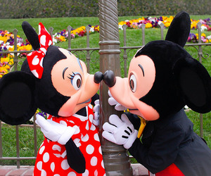 disney, love, and mickey mouse image