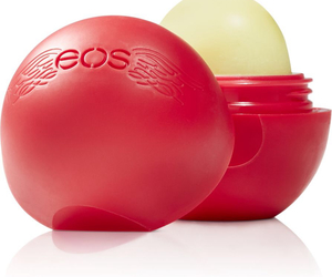 eos, lipbalm, and red image