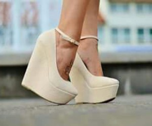 shoes, heels, and wedges image