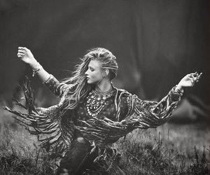 freedom, girl, and wild image