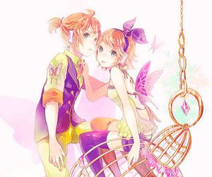 anime, vocaloid, and butterfly image