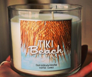 candle, beach, and summer image