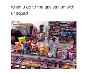 squad, funny, and food image