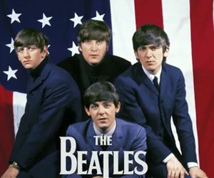 music, the beatles, and handsome image