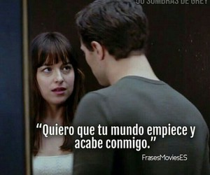 world, 50 sombras de grey, and frases image