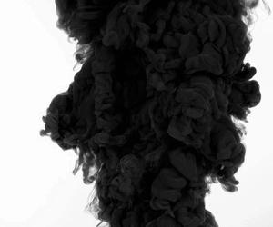 black, smoke, and wallpaper image