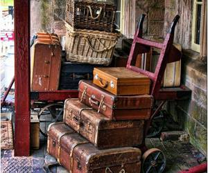 suitcase and vintage image