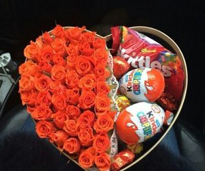 flowers, kinder, and roses image