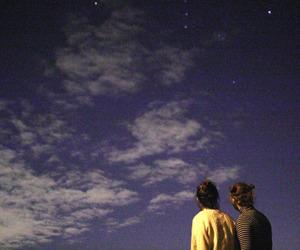 sky, grunge, and blue image