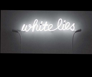neon, black, and lies image