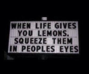 lemon, quotes, and life image