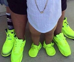 matching, shoes, and yellow image