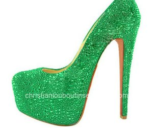 platform pumps, cl daffodile, and cl green image