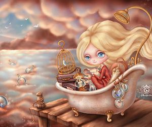 bottle, fairy, and fairy tale image