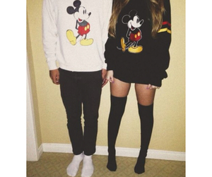 black and white, outfits, and Relationship image