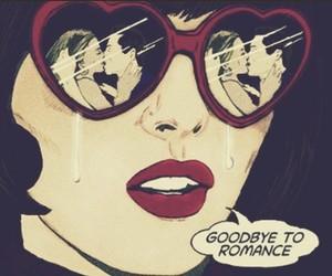romance, goodbye, and sad image