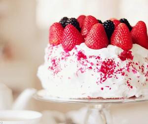 cake, food, and primavera image
