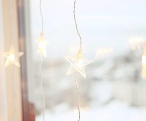 light, star, and white image