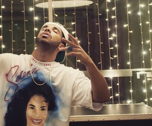 Drake, selena, and rapper image