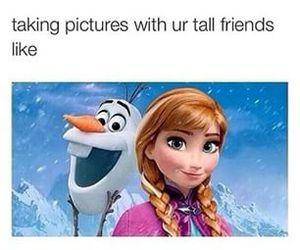 frozen, funny, and friends image