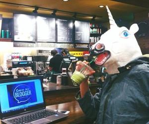 mask, unicorn, and oh my dior image