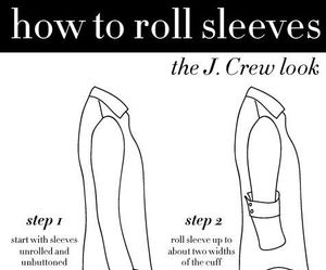 fashion, clothes, and sleeves image