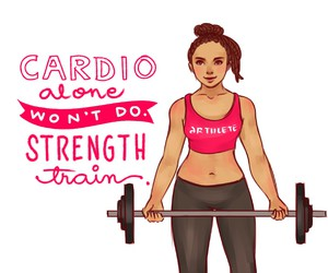 fitness, cardio, and motivation image