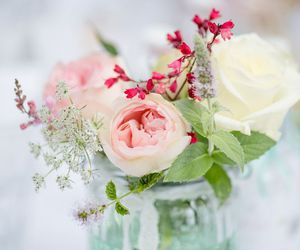 blossom, spring, and bouquet image