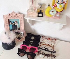 girly, glasses, and sailor moon image