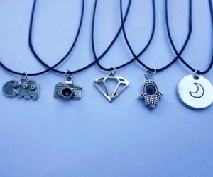 jewelry, cool, and necklaces image