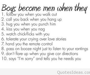 men, boys, and quotes image