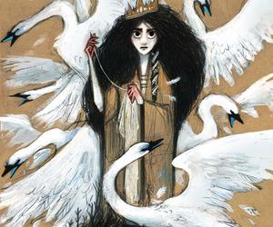 art, fairy tales, and illustration image