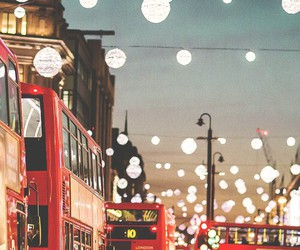 london, light, and city image