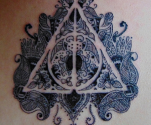 deathly hallows, hero, and life image