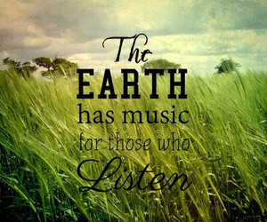 nature, quote, and music image