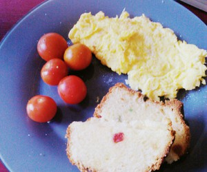 breakfast, healthy, and tomato image