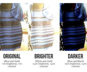 dress, black, and blue image