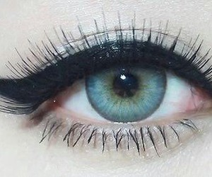 eye, メイク, and 目 image