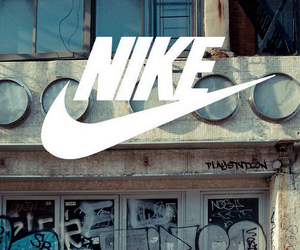 nike, graffiti, and sport image
