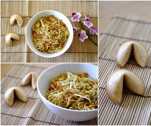 carrots, food, and noodles image