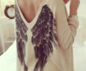 angel, Angel Wings, and girl image