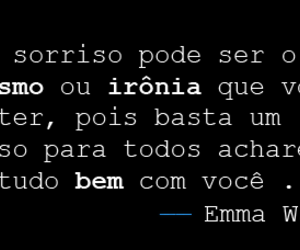 frases, ema watson, and simples image