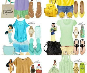 disney, princess, and outfit image