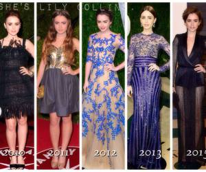 Vanity Fair, lily collins, and oscar party image